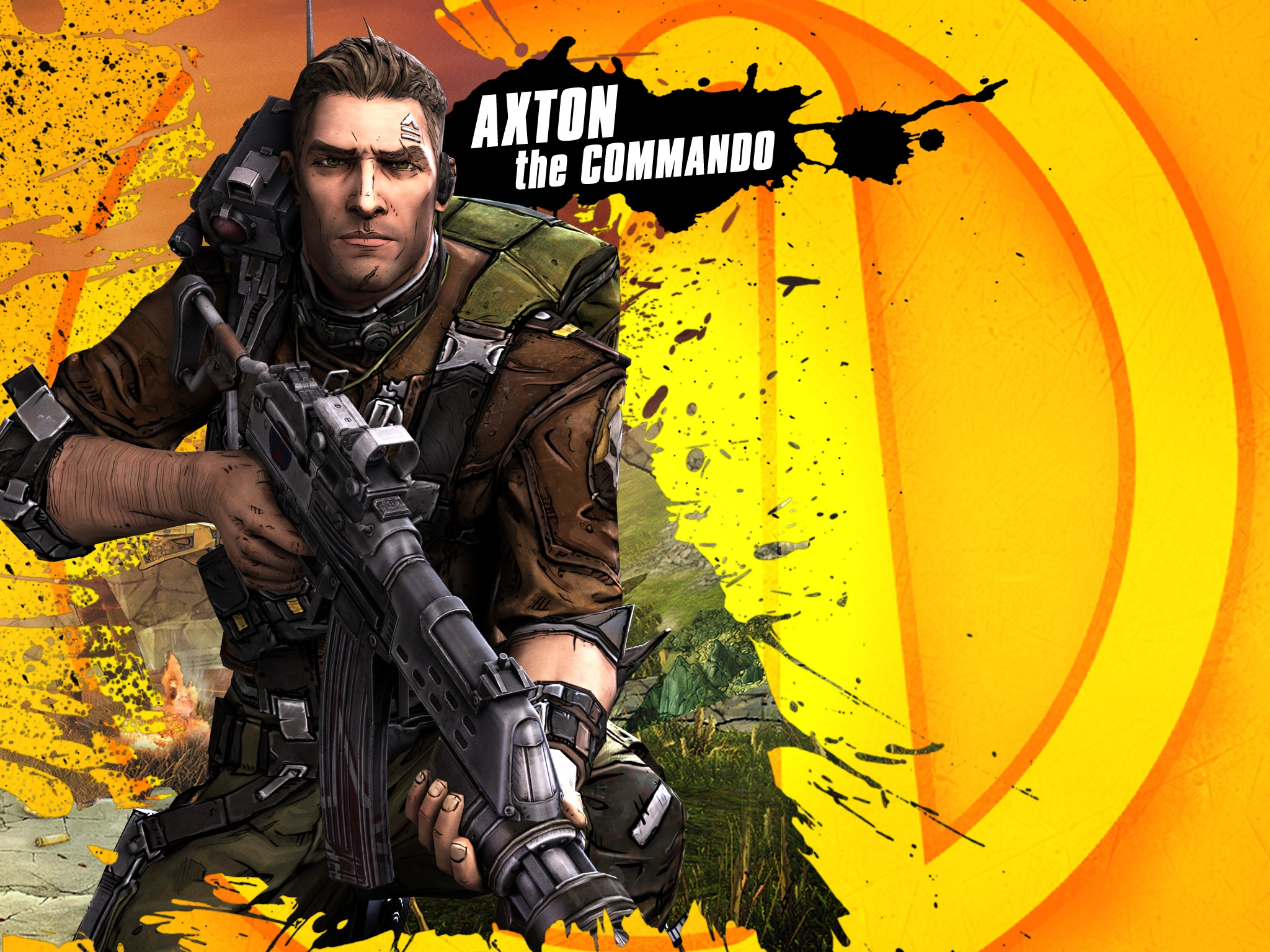 Commando 2 Wallpaper: Borderlands 2 Commando Wallpaper