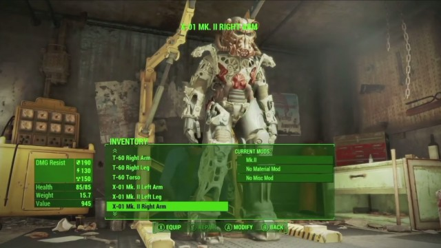 Xbox One Fallout  Mods Infinite Crafting