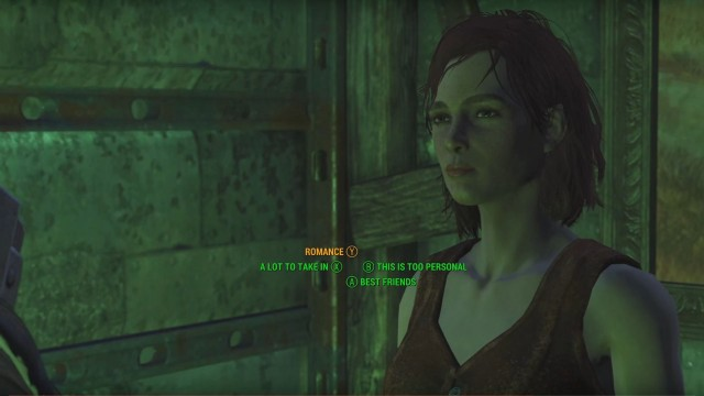 companion fallout 4 likes and dislikes in a relationship