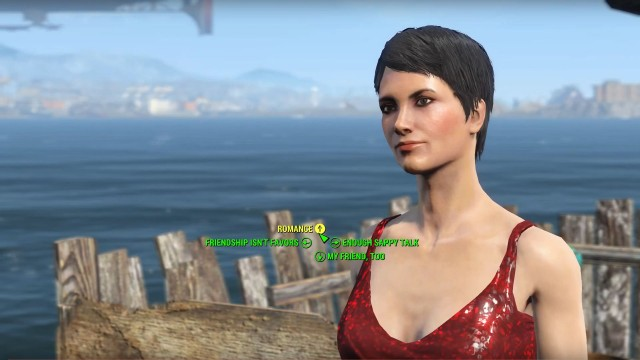 john hancock fallout 4 likes and dislikes in a relationship